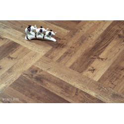 Паркетная доска Focus floor Focus floor Smart Дуб Мираж фаска