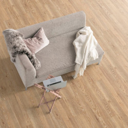 Паркетная доска Floorwood Ясень Кантри легкий браш, темно-коричневый матовый лак 3S