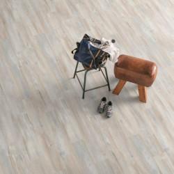 Паркетная доска Floorwood Ясень Кантри легкий браш, бежевое масло 3S