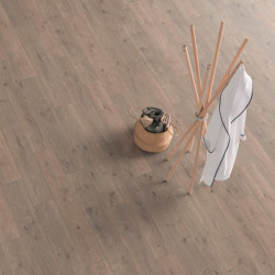 Паркетная доска Floorwood Ясень Кантри легкий браш, молочно-белый матовый лак 3S