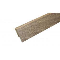 Паркетная доска Floorwood Дуб Натур, белый матовый лак 3S